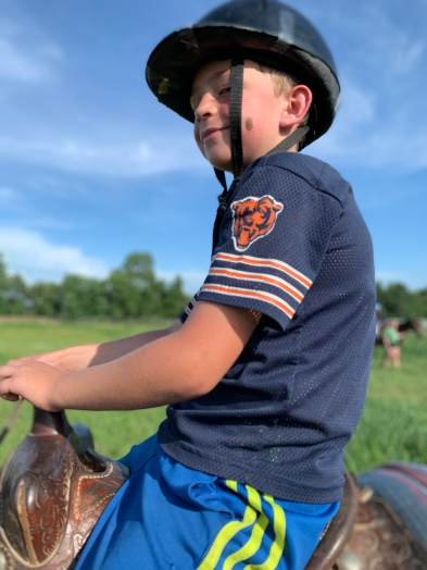 my oldest riding horses