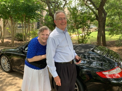 a bonus gift--getting to drive a Porsche