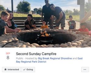 Second Sunday Campfire